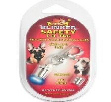 SAFETY BLINKER - (batteries included) - Pet Dog Cat Night Safe ID Collar dm Tag