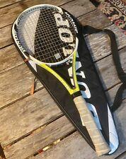 """Dunlop Aerogel 5 Hundred 500 Tour 4 3/8"""" grip Tennis Racquet & Soft Case"""