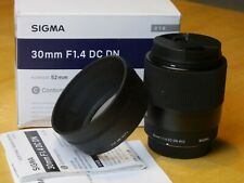 Sigma 30mm f/1.4 DC DN Contemporary Lens for m4/3