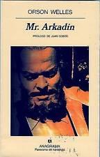 NEW Mr. Arkadin (Panorama de Narrativas) (Spanish Edition) by Orson Welles