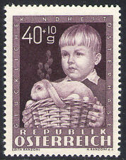 Mint Never Hinged/MNH Single Austrian Stamps