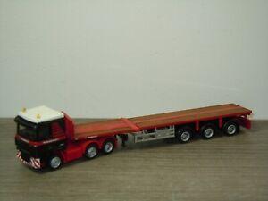 Daf 95 XF Truck & Trailer Mammoet - Promotoys WSI 1:87 *49603