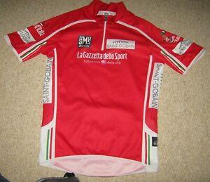 Giro d'Italia 2010 Santini Red Sprinters cycling jersey [XXS]