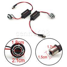 pair  BA15S 1156 LED Light Load Resistor Warning Error Canceller Canbus Decoder