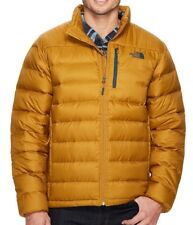 THE NORTH FACE Aconcagua Down Mens L Golden Brown Jacket NEW $160