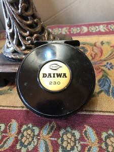 Vintage Daiwa 230 Fly Reel. Single action click and pawl fly reel.