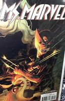 MS MARVEL 17 Marvel 2015 | ADAM KUBERT RESURRXION X-23 WOLVERINE VARIANT [ NM ]