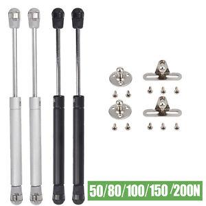 2/4x Gasdruckfeder Gasfeder Dmpfer Klappenbeschlag Kompressionsfeder 50-200N DE