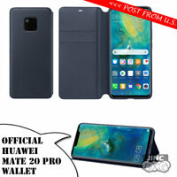 Genuine Original Huawei Mate 20 Pro Mate20 Pro Wallet Flip Cover Leather Case