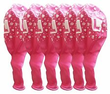 6 X 12 Inch L Plate Pink Balloons Helium Hen Girls Night Out Party Decorations