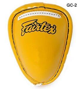 FAIRTEX STEEL CUP  GROIN PROTECTORS GC2 PROTECTIVE GEAR MUAY THAI KICKBOXING MMA