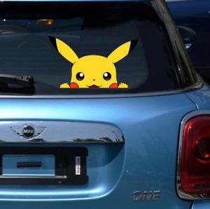 Pokémon - Window sticker / Wall Stickers /Multiple-use PVC waterproof stickers