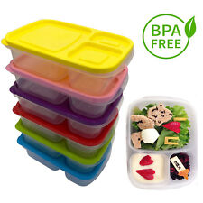 BENTO LUNCH BOXES FOOD STORAGE MEAL CONTAINER WITH LIDS FOR KIDS