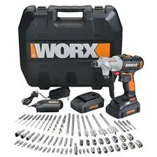 WORX WX176L.1 Switchdriver 67 PC 20V PowerShare Cordless Drill & Driver