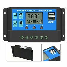 Solar Charger Controller ALLPOWERS 20A 12V / 24V LCD Charging Controller Current