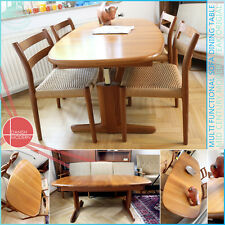 DANISH VINTAGE MID CENTURY MODERN SOFA & DINING TABLE AT THE SAME TIME TISCH