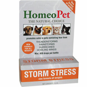 Homeopet Storm Stress Fast Acting Liquid for Dogs of All Weights
