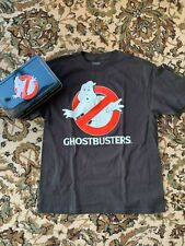 Ghostbusters Tin Pencil Lunch box Case Collectible & Yxl Ghost Busters T-Shirt
