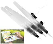 3pcs Refillable Pilot Water Brush Ink Pen Paint Calligraphy Beginner