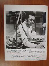 Vintage Glossy Press Photo Indian Sitar Musician Composer Pandit Ravi Shankar #1