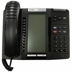 Mitel 50006634 5320e VOIP Dual Mode Backlit LCD Display VOIP IP POE Telephone