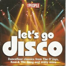 LETS GO DISCO - PEOPLE PROMO MUSIC CD