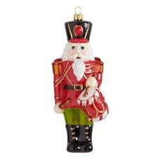 6 Inch Nutcracker with Red Coat And Drum Ornament by K&K Interiors #51421B