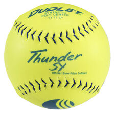 "Dudley® Thunder Sy Classic W 11"" Slow-Pitch Softballs - 1 Dozen"