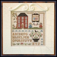 10% Off Little House Needleworks Counted X-stitch chart - Oh My Stars!