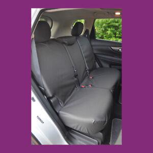 Dacia Duster 2018 + sur Mesure Imperméable Arrière Noir Housses de Siège