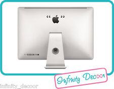 """Stickers Adesivo """"virgolette"""" per iMac21 &  iMac27"""