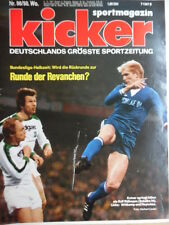 KICKER 98 - 5.12. 1977 * Rolf Dußmann 1.FC Köln-St.Pauli 4:1 HSV-Hertha BSC 2:2