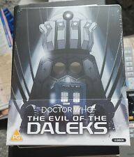 More details for dr who the evil of the daleks blu ray steelbook new and sealed
