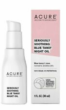 ACURE Seriously Soothing Blue Tansy Night Oil  100% Vegan  For Dry skin