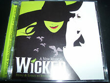 Wicked Original Musical Soundtrack CD - Like New