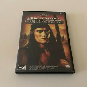 GERONIMO - CHUCK CONNORS - 1962 WESTERN DVD