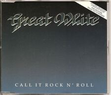 GREAT WHITE Call It Rock N' Roll UK CD SINGLE w 2 rare