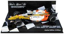 Minichamps Renault R27 '1st Test Jerez' 2008 - Fernando Alonso 1/43 Scale