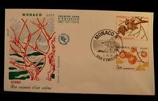 MONACO PREMIER JOUR FDC YVERT 1304/05     L ARBRE ,  LE KAKI      4+3F      1981
