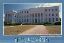 Archives and History Museum, Montgomery, Alabama, 624 Washington Ave. - Postcard