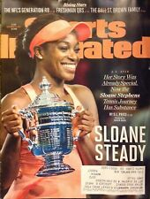 Sports Illustrated 9/18/17 Sloane Stephens, Freshman QBS, Ships Anywhere Today!