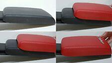 Dodge Challenger Armrest/Center Console Cover (RED CARBON FIBER)