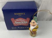 Disney Grolier Presidents Edition Snow White Bashful Ornament In Box