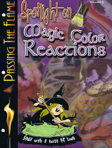 """Spotlight on"" Magic Colour Reactions - Corina Tettinger"