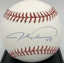 Jacob deGrom autographed signed autograph official MLB baseball JSA COA Mets