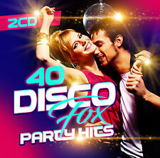 CD 40 Disco Fox Party Hits von Various Artists 2CDs