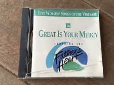 026297916725 Live Worship Vineyard #16 Great Your Mercy Touching Fathers Heart