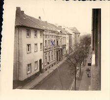 Orig. Foto VIERSEN Partie Wilhelmstr. Häuserfront 1953