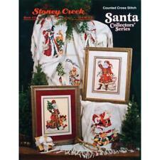 STONEY CREEK Cross Stitch Pattern Leaflet SANTA'S COLLECTORS SERIES 433