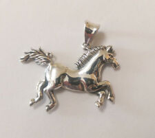 Sterling Silver Horse Pendant.